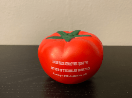attack of the killer tomatoes merch 8