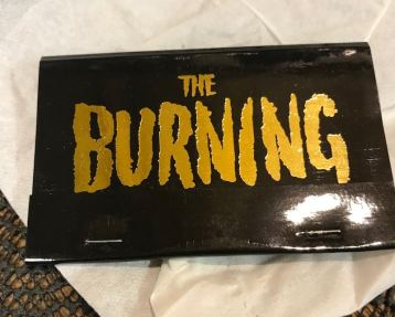 the burning - collector's crypt - nightmare on film street matches