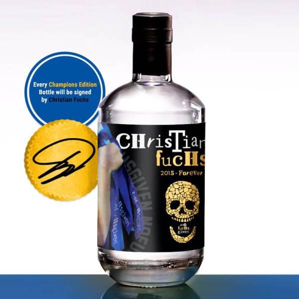 Champions Edition Vodka - Back