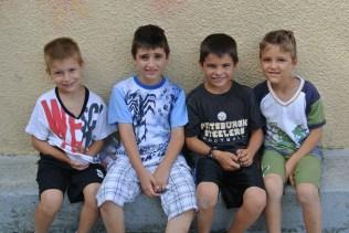 Georgios, Elias, Zach, kai Diamatis