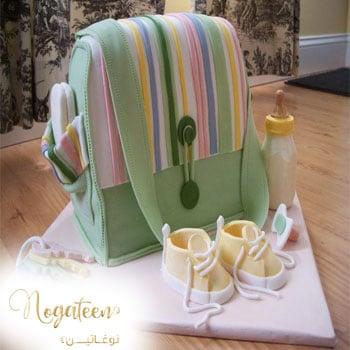 Nogateen Baby Shower Cake