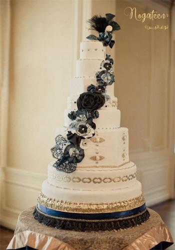 Nogateen cake for wedding