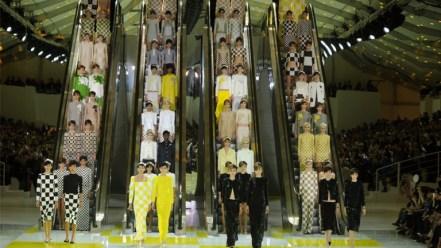 Os Anos 60 nas Escadas Rolantes na Primavera/Verão 2013?