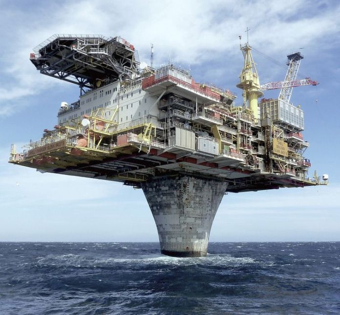 One of the world's largest offshore facilities