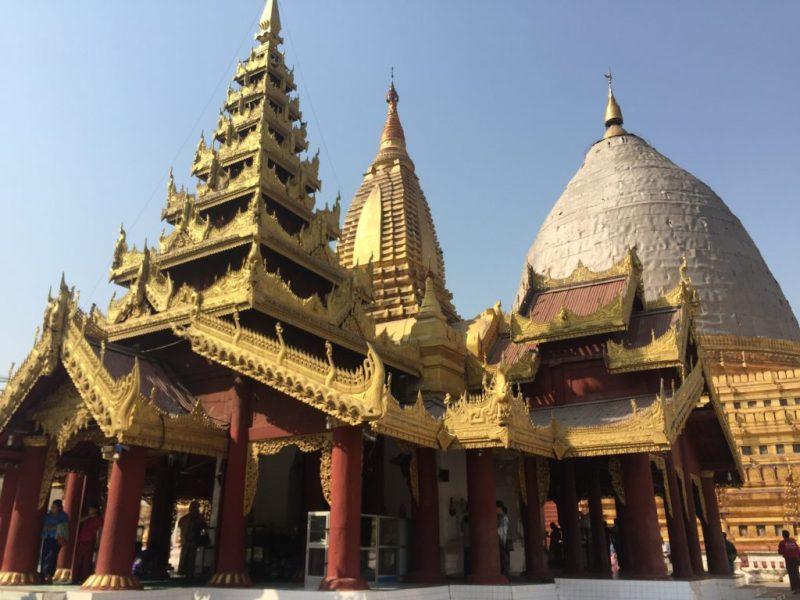 Shwezigon Pagoda (Paya), Bagan, Myanmar (Burma)