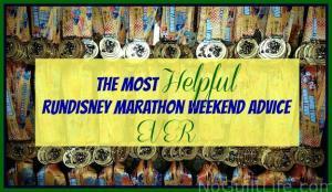 The Most Helpful runDisney Marathon Advice EVER