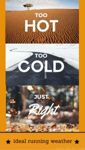 My Ideal Running Weather | Tuesdays on the Run