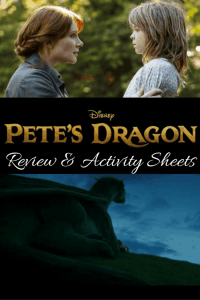 Pete's Dragon | Review and Activity Sheets