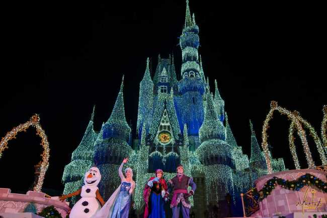 when does disney take down christmas decorations