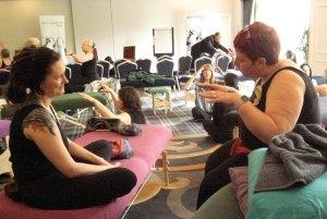Master Nathalie Scullard in action