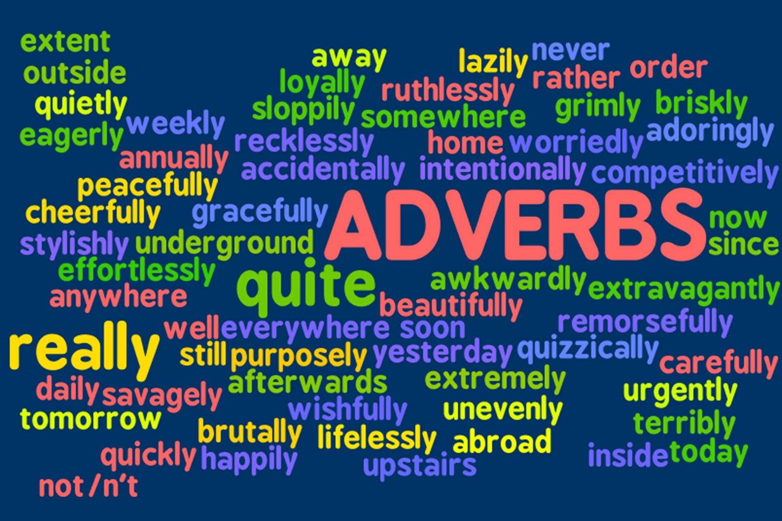 Adverbs No Harm Spilt