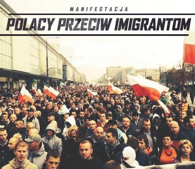 Manifestacion polonia