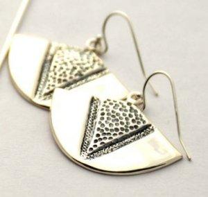 Kamapua'a Small Sterling Silver Earrings