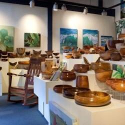 Honolulu Woodturners exhibit 2012