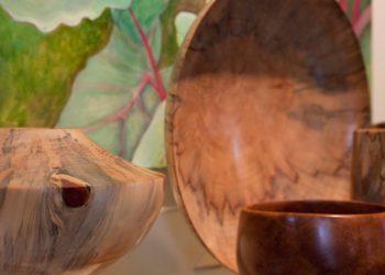 Honolulu Woodturners show at Nohea Gallery