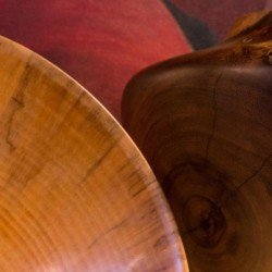 2014 Honolulu Woodturners show at Nohea Gallery