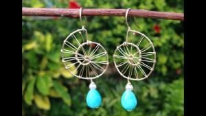 Maki's nautilus earrings