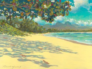 Russell Lowrey giclee on canvas