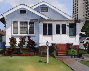 Cottage on Mott-Smith 24 x 30
