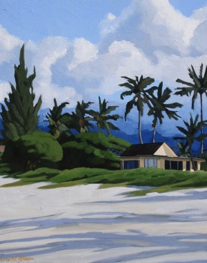 Last Days of Summer Brenda Cablayan original 30x24