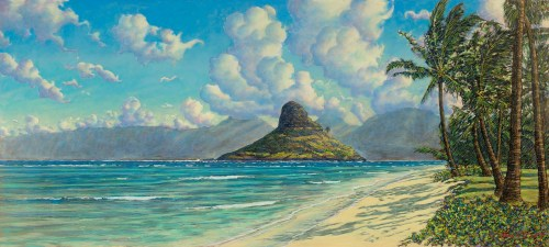 'Mokoli'i at Kualoa' by Russell Lowrey, Giclee Print, custom sizes