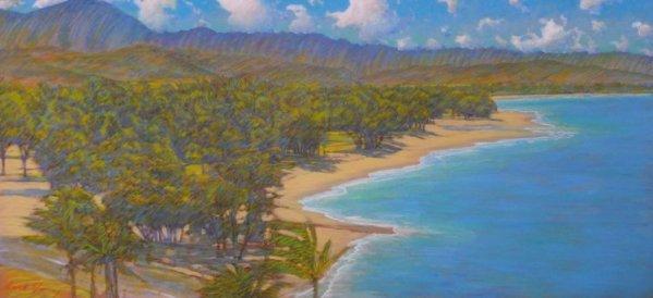 Russell Lowrey Kailua Beach from Lanikai