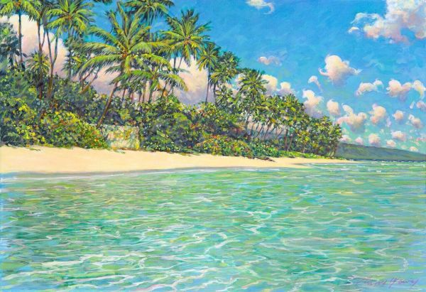 Russell Lowrey Kahala Beach