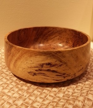 Andy Cole 1640-549 8x3 donation mango bowl