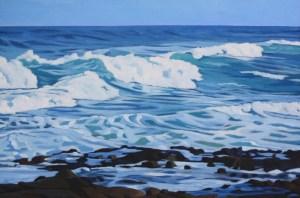 Brenda Cablayan original painting Ka'iwi Coast