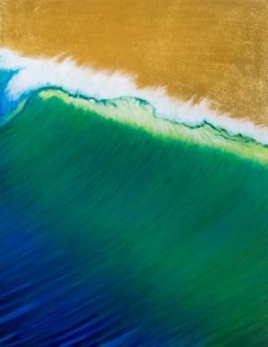 Iconic original oil painting on wood panel Robert McGuire