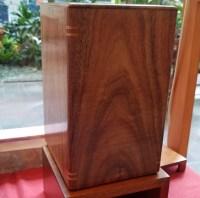 Koa urns with splines