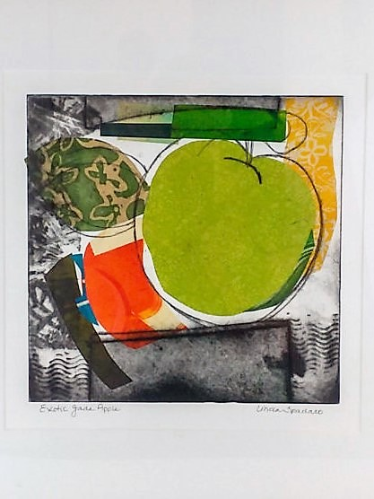 Monoprint by Linda Spadaro