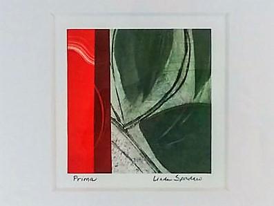 Prima monotype by Linda Spadaro