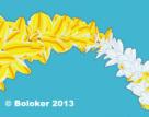 Judd Boloker print Plumeria Arc
