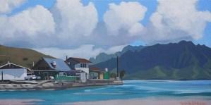 Brenda Cablayan painting He'eia Kea 12x24