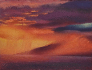 Cloudburst by Maui artist Diana Lehr