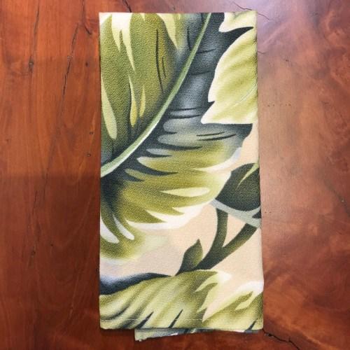 """Maui Potpourri Retro Bark Cloth Napkin 17""""x17"""" (representative) #A"""