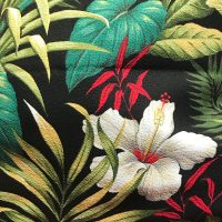 Maui Potpourri Retro Bark Cloth #E