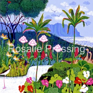 Rosalie Prussing Peaceful Paradise - Hawaii