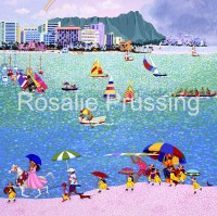 Rosalie Prussing Rain Drops Waikiki