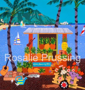Rosalie Prussing Sweet Pineapple - Hawaii