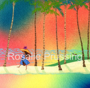 Rosalie Prussing Ukulele Sunset