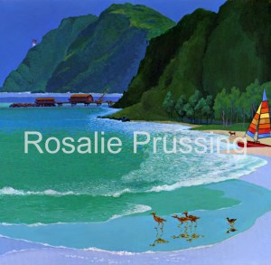 Rosalie Prussing Waimanalo Beach