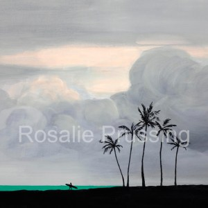 Rosalie Prussing Dusk Hawaii