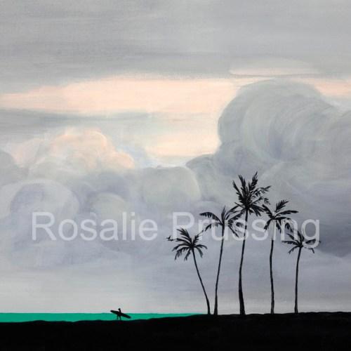 Rosalie Prussing Dusk Hawaii