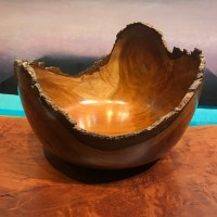 "Milo Natural Edge Bowl by Eric LeBuse 10""H x 14""L x 13.5""W $1900"
