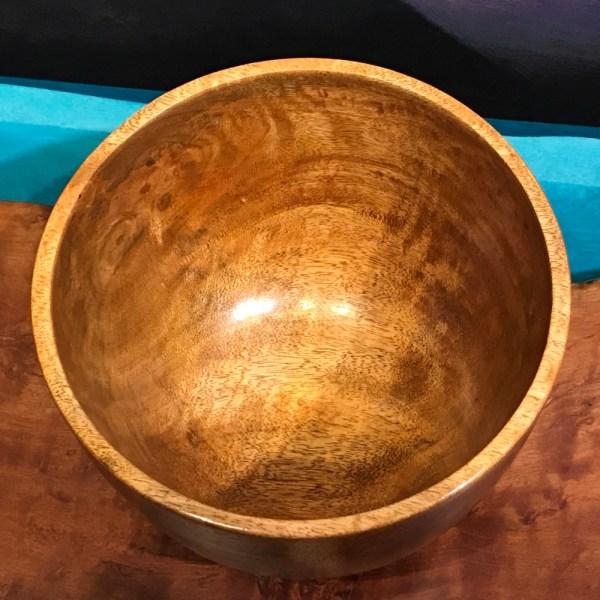 """John Berthiaume Mango Bowl 6""""H x 7.5""""D"""