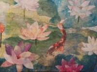 Hiroko Shoultz 'Koi Pond' Print