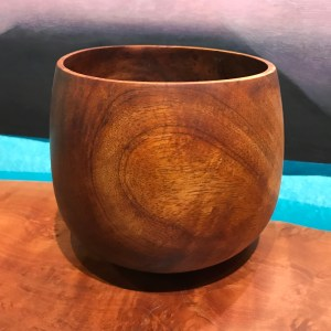 "Koa 'Umeke by Gordon Tang 5.75""H x 6.25""D $625"