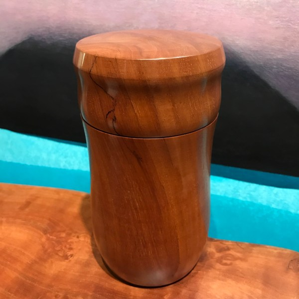 "Lychee Jar by Grant Merritt 7.25""H x 3.75""D $200"